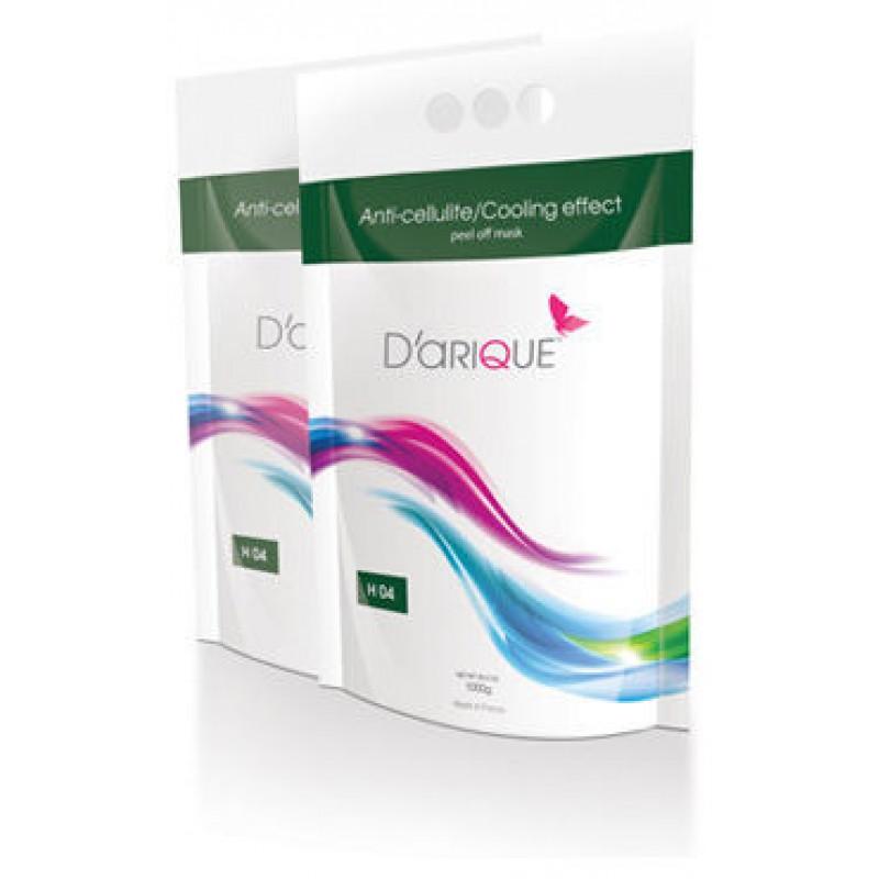 Маска Darique антицеллюлитная для уменьшения объемов тела с охлаждающим эффектом, 500 гр