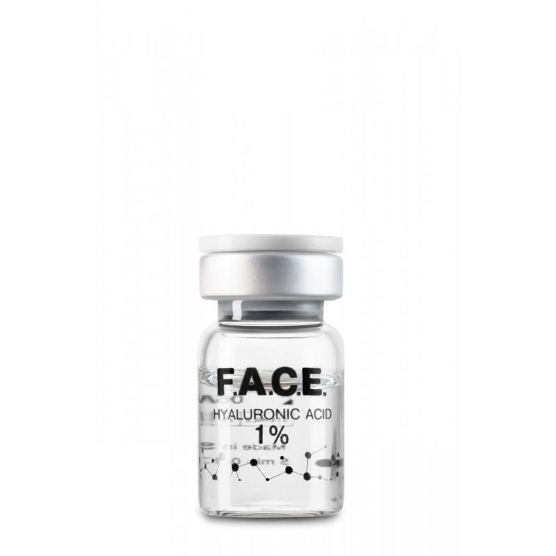Высокомолекулярная нестабилизированная гиалуроновая кислота 1%, флакон 1*5 мл