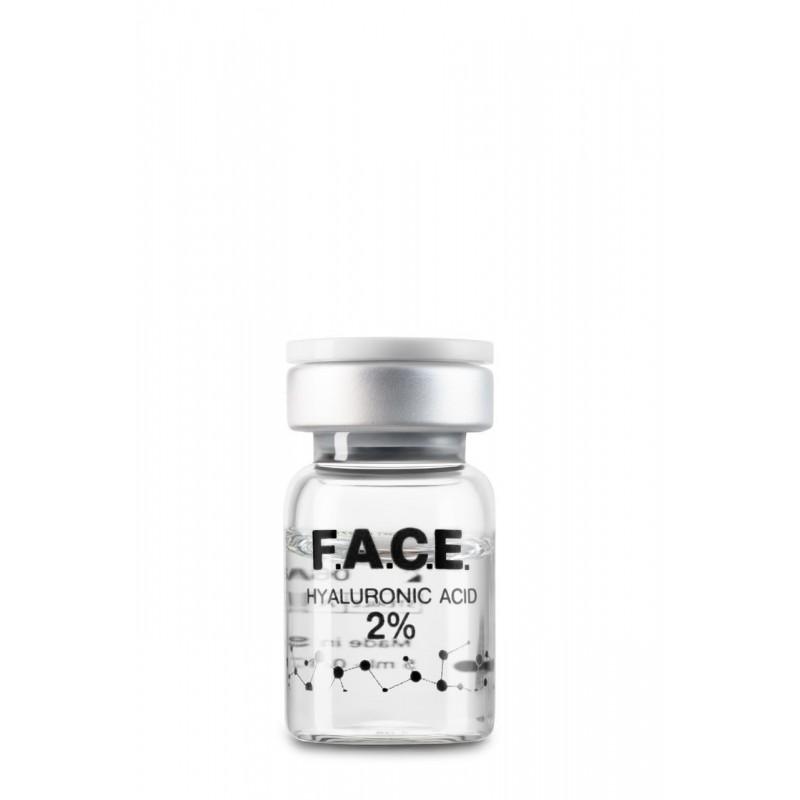 Высокомолекулярная нестабилизированная гиалуроновая кислота 2%, флакон 1*5 мл