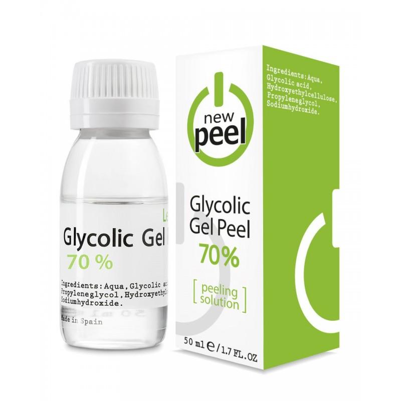 Гликолевый пилинг Glycolic Gel-Peel 70% Level 3, флакон 50 мл
