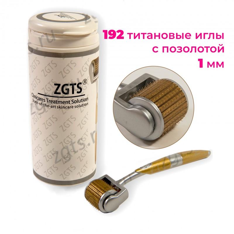 Мезороллер-дермароллер для тела ZGTS-GT 192 иглы 1 мм