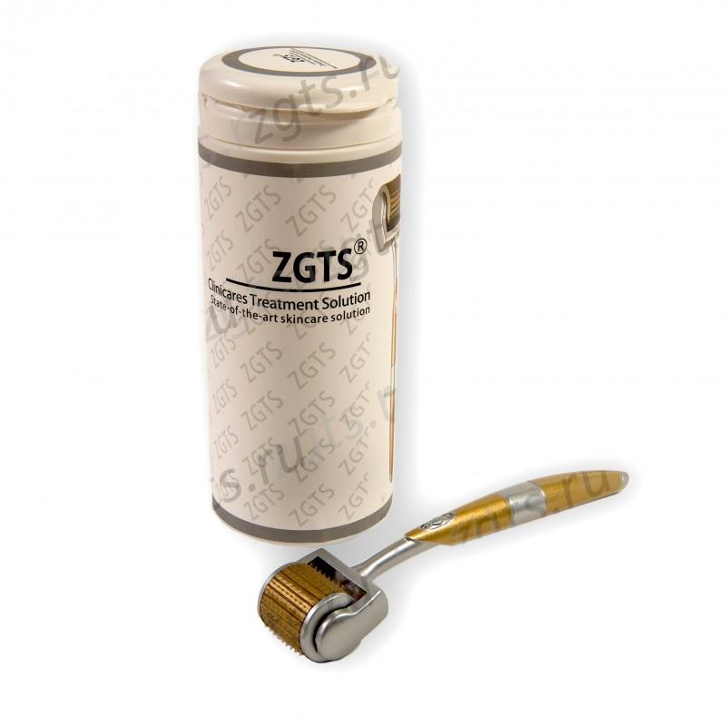 Мезороллер-дермароллер для лица и кожи головы ZGTS-GT 192 иглы 0.5 мм